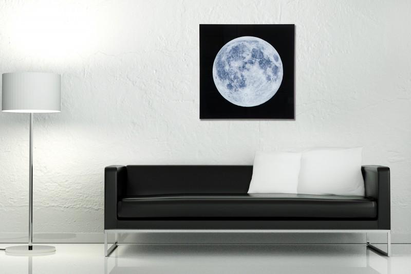 Obraz Moon 60x60cm Mond sklo