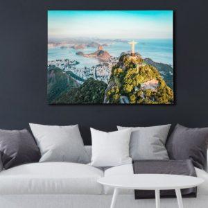 Obraz Rio 60x80cm sklo