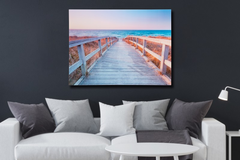 Obraz Way 60x80cm Strand Horizont sklo