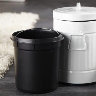 Odpadkový kôš Oscar biela 5L