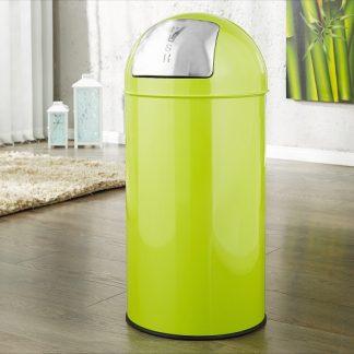 Odpadkový kôš Push Can limeta 40L