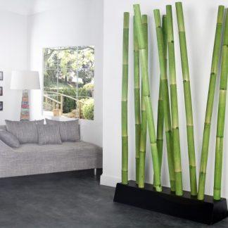 Paravan Bamboo zelená