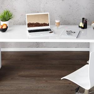 Písací stôl Fast Trade 140cm biela