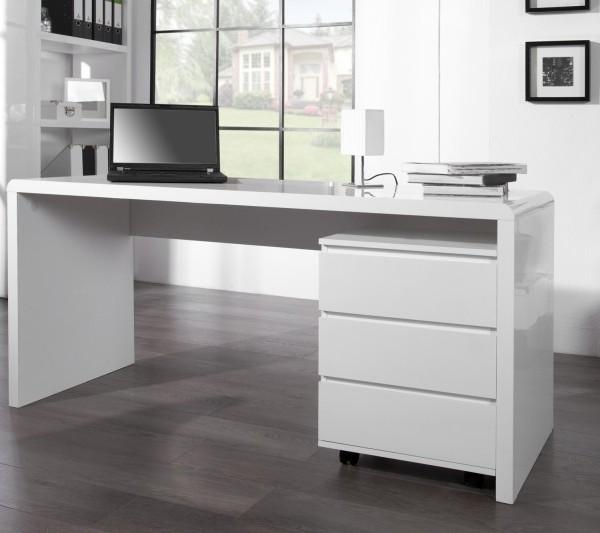 e941a11fb2b1 Písací stôl Fast Trade 160cm biely - Potočan.sk