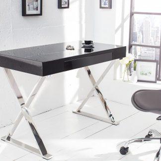 Písací stôl Grace 100cm čierna