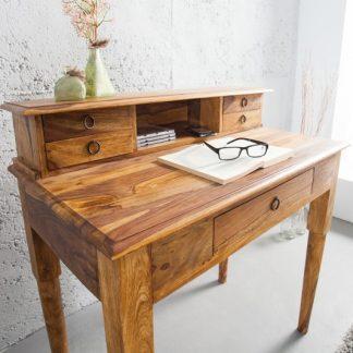 Písací stôl Hemingway 90cm sheesham Honey