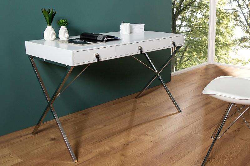 Písací stôl Heritage 120cm biela