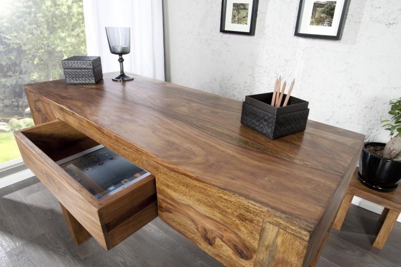Písací stôl Makassar sheesham stone 100cm