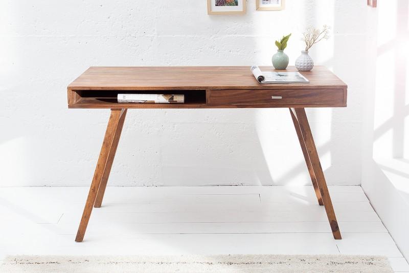Písací stôl Retro 120cm sheesham