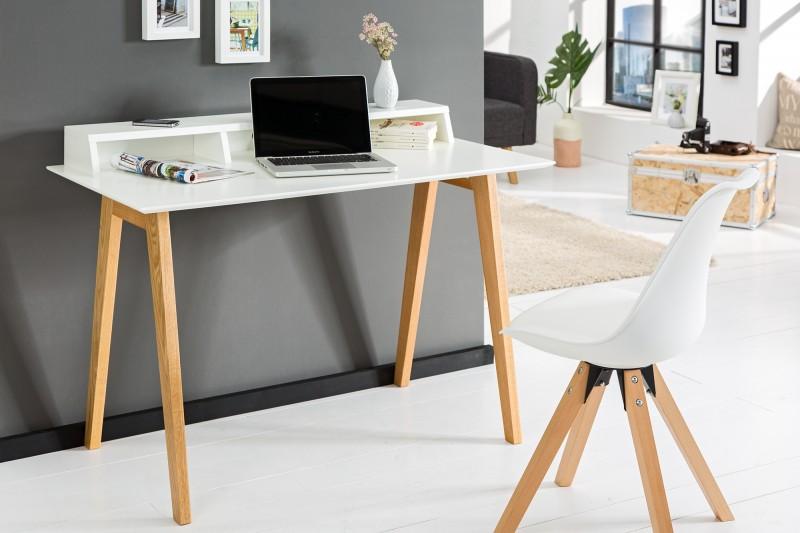 Písací stôl Scandinavia 120cm biela