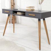 Písací stôl Scandinavia 120cm grafit