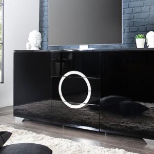 Príborník Zen 160cm čierna