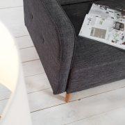 Rozkladacia pohovka Scandinavia 210cm antracit