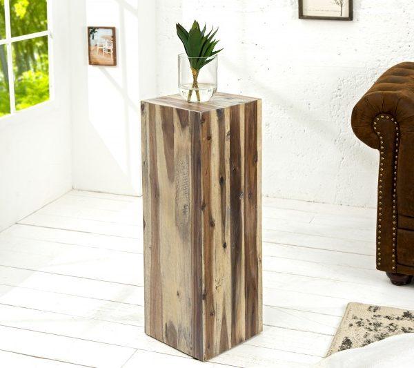 Säule Columna 75cm vintage naplavené drevo