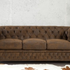 Sofa Chesterfield 3er im antik look