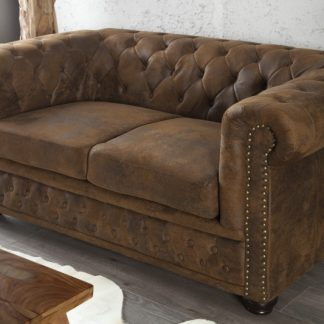 Sofa Chesterfield dvoják im antik look