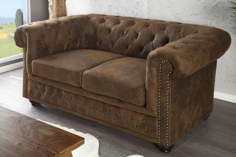 Sofa Chesterfield dvoják im antik look