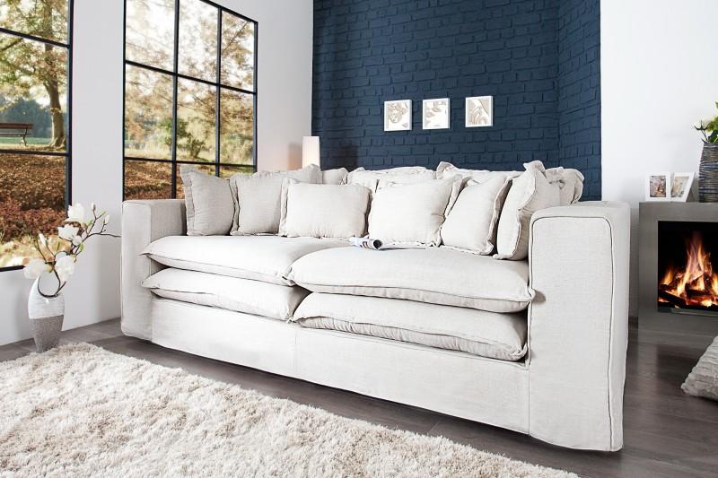 Sofa Cloud 230cm créme plátno