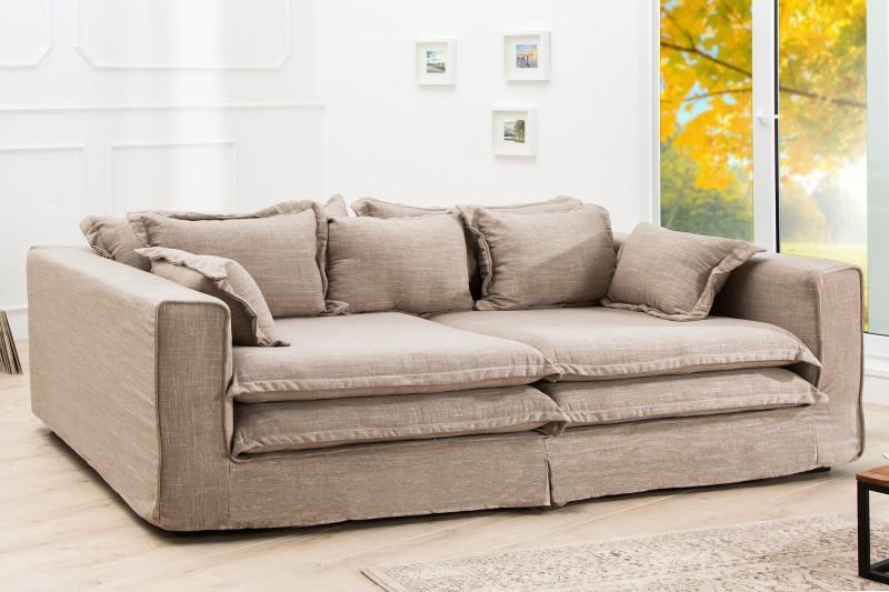 Sofa Cloud 230cm sand plátno