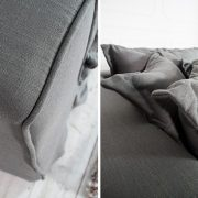 Sofa Cloud 230cm sivá plátno