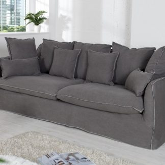 Sofa Heaven 3er sivá (stone washed)