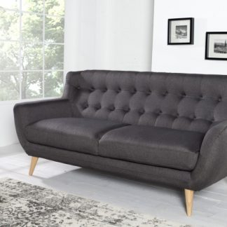 Sofa Scandinavia II 3er antracit