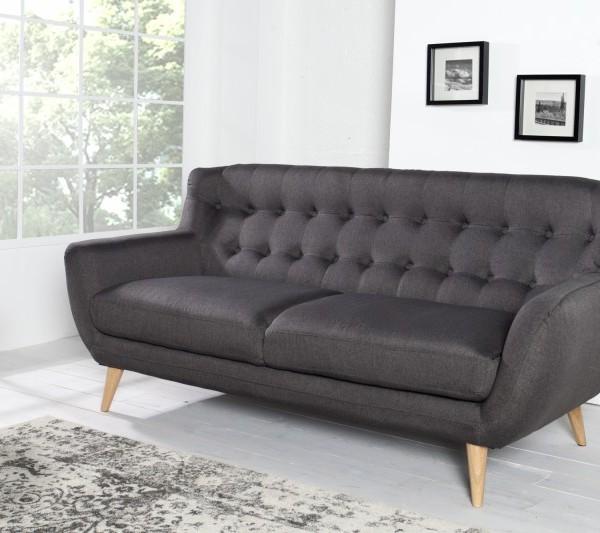 Sofa Scandinavia II 3er antracit