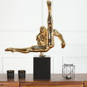 Soška Athlete II Turner 70cm zlatá