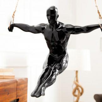 Soška Athlete III Turner 50cm čierna