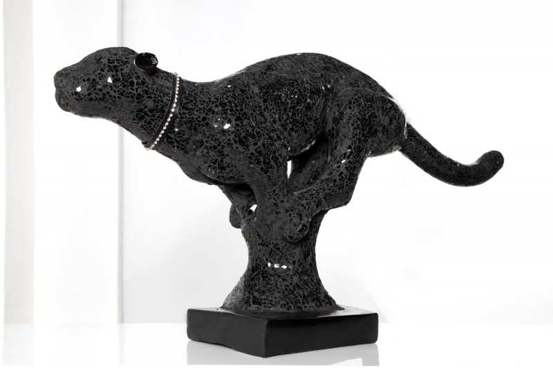 Soška Black Panther čierna 90cm