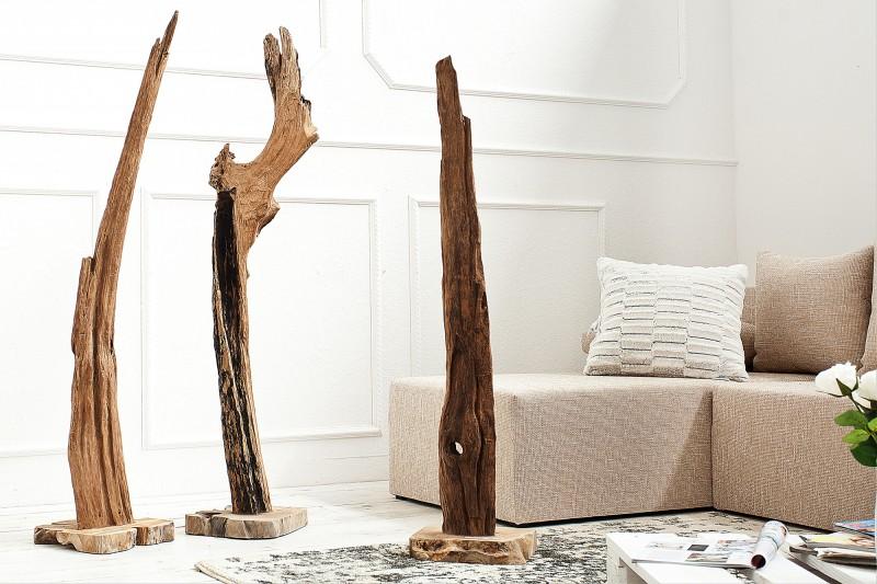 Soška Reef 125-150cm naplavené drevoteakové drevo