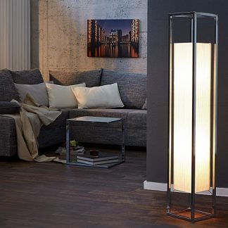 Stojanová lampa Agapune biela 120cm