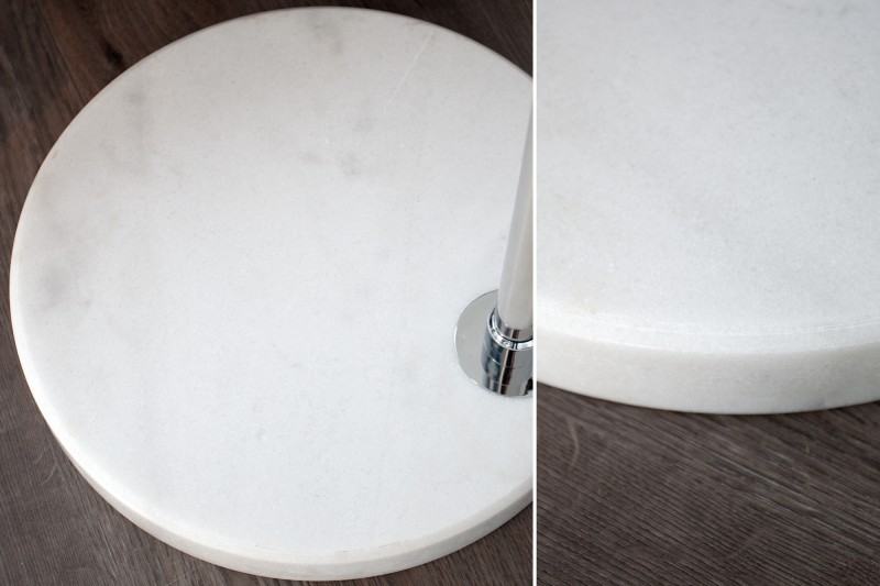 Stojanová lampa Big Bow biela 185-205cm,  Dimmer