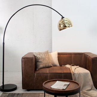Stojanová lampa Big Bow zlatá 170-210cm