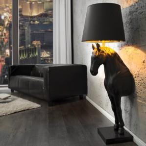 Stojanová lampa Black Beauty čierna