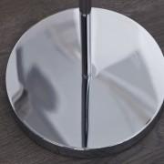 Stojanová lampa Bubble dvoják chróm