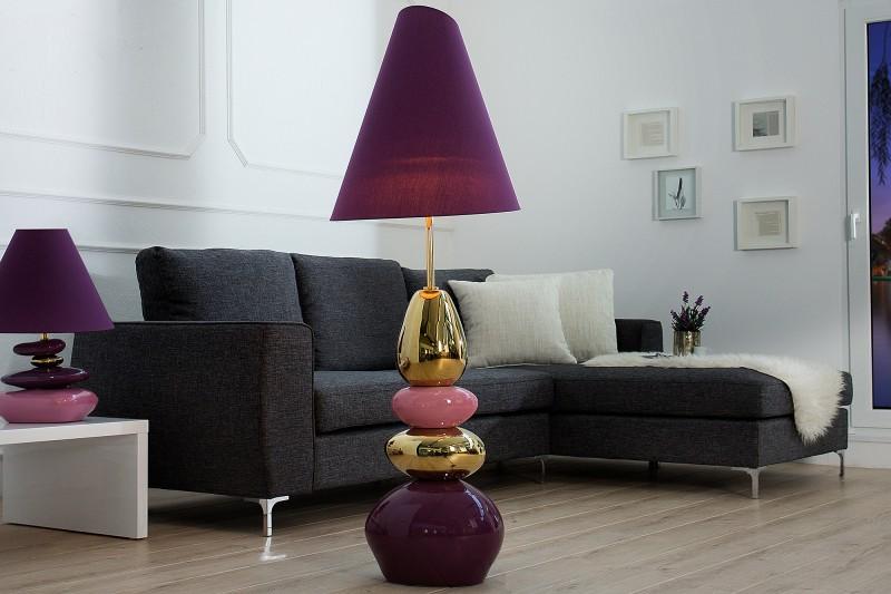 Stojanová lampa Elegance Stones 150cm