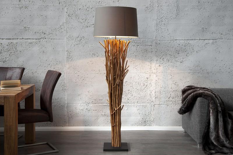 Stojanová lampa Euphoria 180cm hnedá