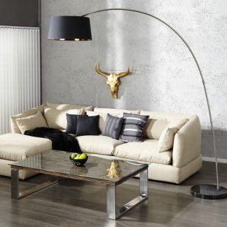 Stojanová lampa Forma čiernozlatá
