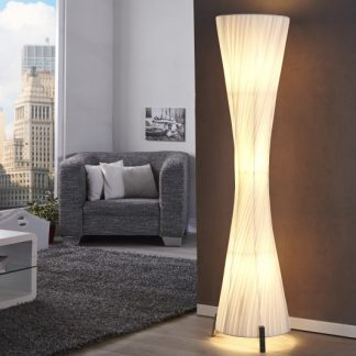 Stojanová lampa Helix L 160cm biela