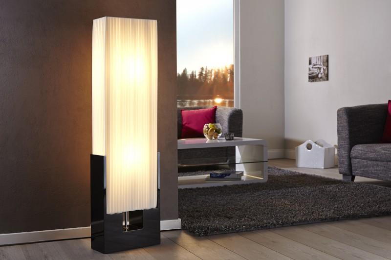 Stojanová lampa Liana biela