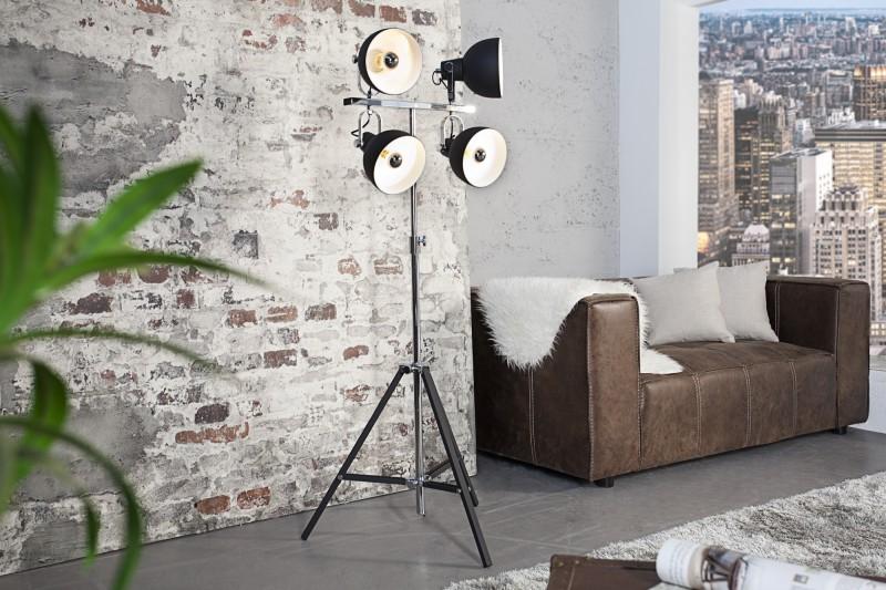 Stojanová lampa Light Spot čierna