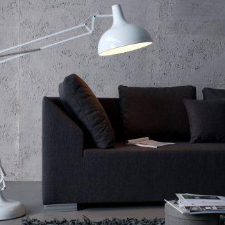 Stojanová lampa Loft 180cm biela