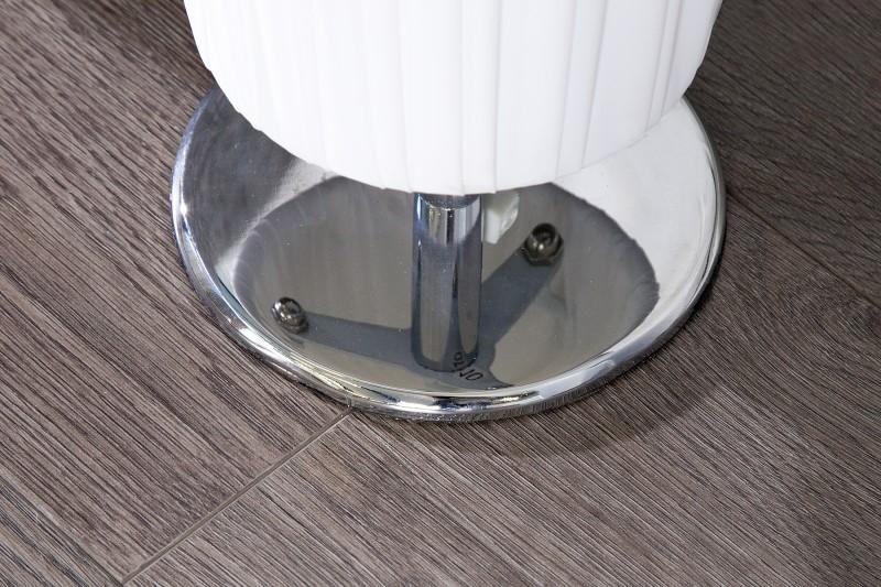 Stojanová lampa Paris biela rund 120cm