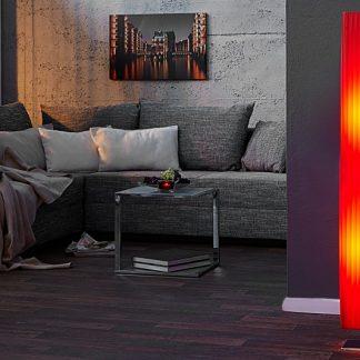Stojanová lampa Paris červená 120cm