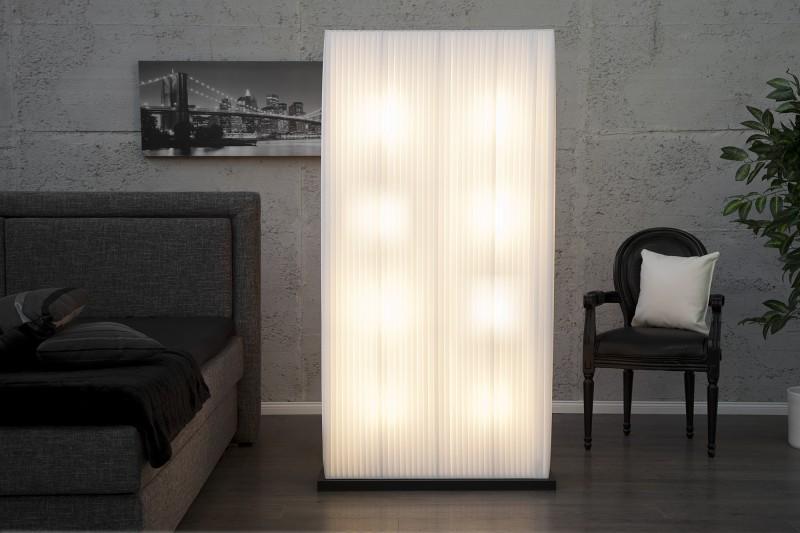 Stojanová lampa Stena biela