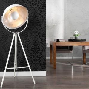 Stojanová lampa Studio biela