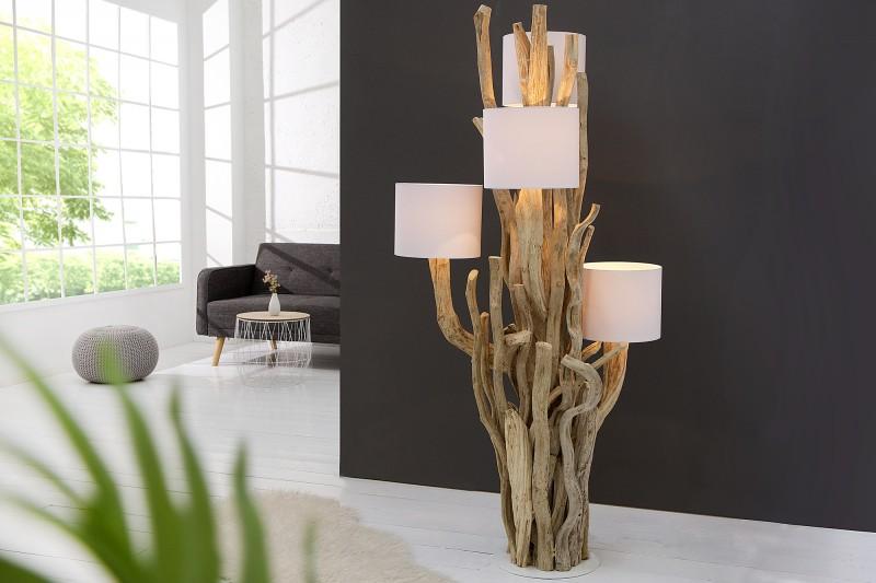 Stojanová lampa Tree of Life 150cm biela