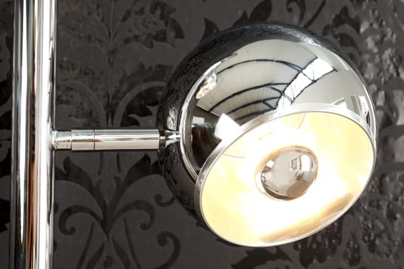 Stojanová lampa Triton chróm