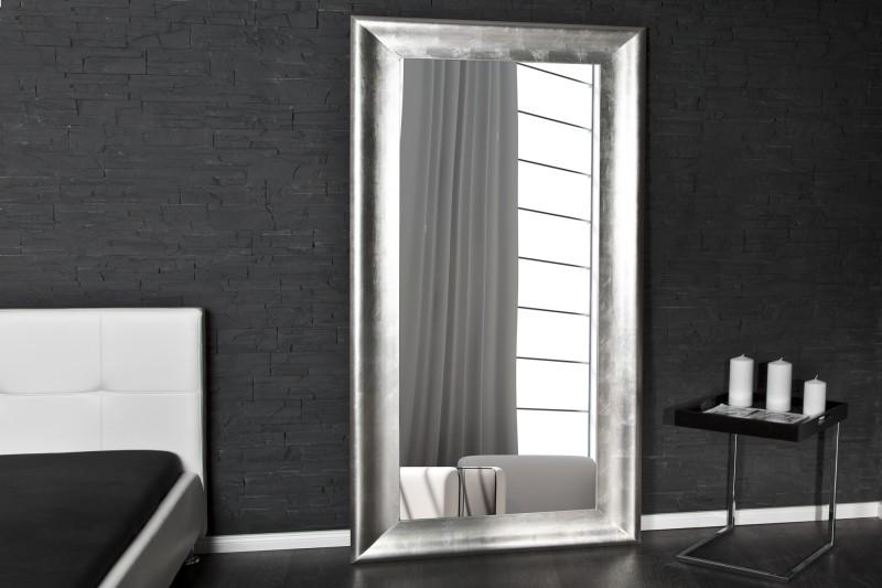Stojanové zrkadlo Brillado 180cm strieborná